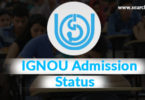 IGNOU Admission Status / IGNOU Registration Status