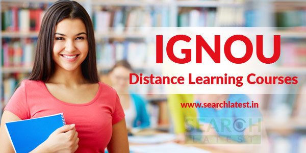 IGNOU Distance Courses Admission 2018