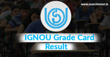 IGNOU Grade Card Result