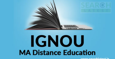 IGNOU MA Distance Education