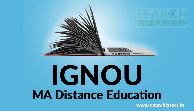 IGNOU MA Distance Education