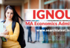 ignou ma economics admission