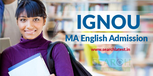 IGNOU MA English Admission