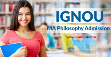 IGNOU MA Philosophy Admission