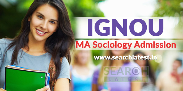ignou ma sociology admission (MSO)