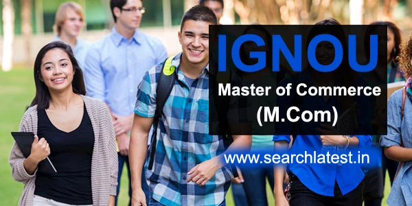 M.Com from IGNOU online admission