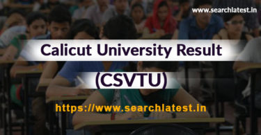 Calicut University Result UG/PG Sem wise