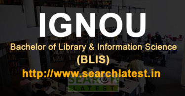 BLIS from IGNOU admission, eligibility, fee, courses, syllabus