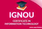 Certificate in Information Technology IGNOU (CIT) admission