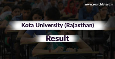 Kota University Result
