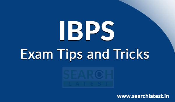 IBPS Exam Tips & Tricks