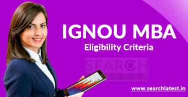 IGNOU MBA Eligibility Criteria