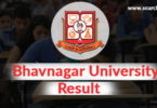 Bhavnagar University online result