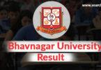 Bhavnagar University online result